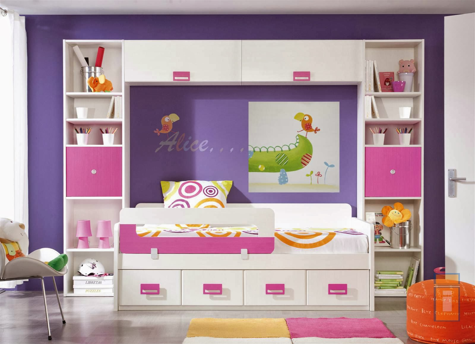 Habitaciones infantiles peque as 6 ideas creativas - Camas pequenas infantiles ...