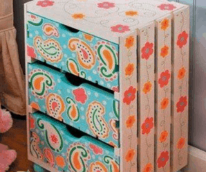 CAJAS DE FRUTAS – 18 IDEAS PARA DECORAR
