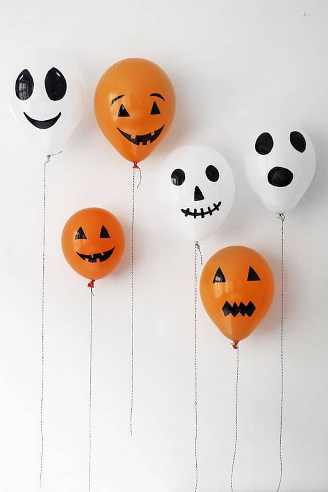 Decoracion - Halloween - globos